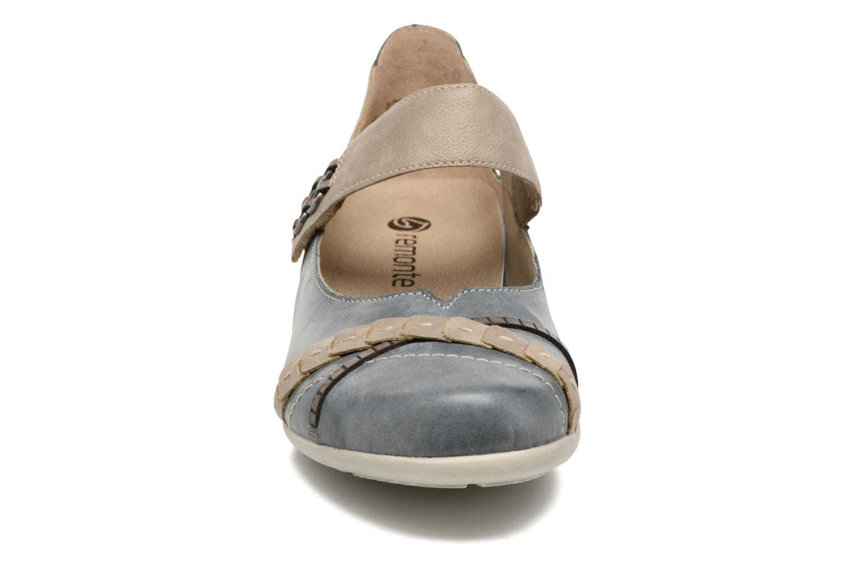 Ballerines Remonte Gatau R9835 Bleu vue portées chaussures