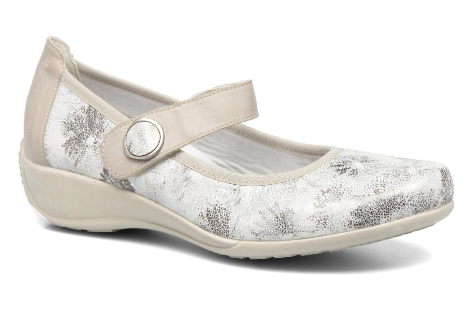 Ballet pumps Remonte Blomi R9840 Silver detailed view/ Pair view