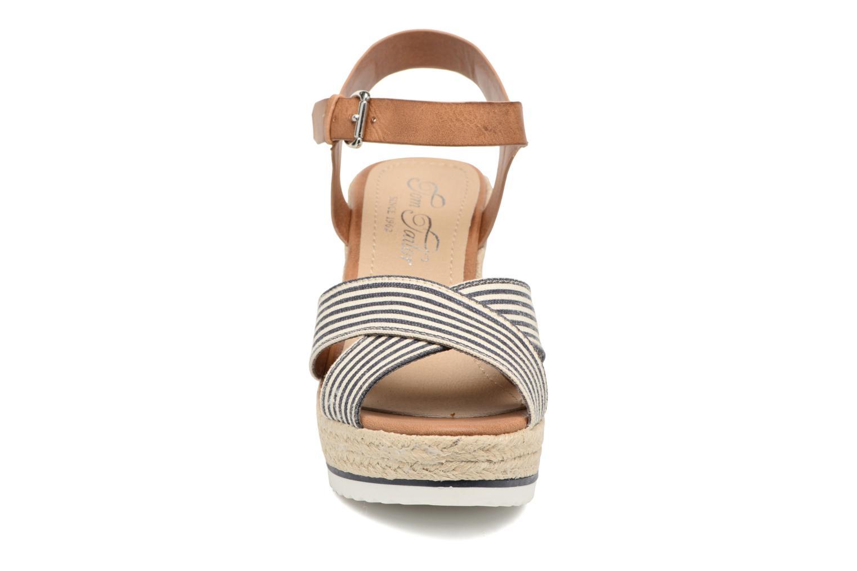 Sandales et nu-pieds Tom Tailor Glenda Bleu vue portées chaussures