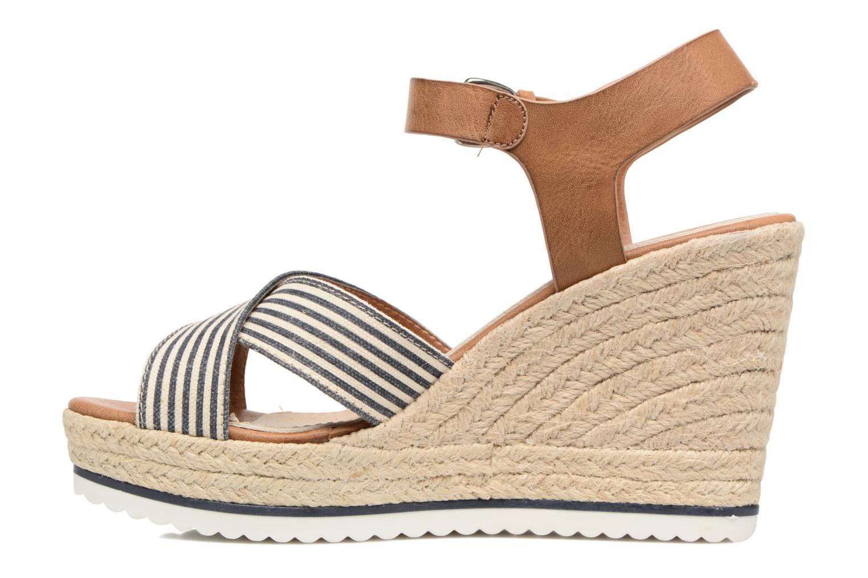 Sandales et nu-pieds Tom Tailor Glenda Bleu vue face