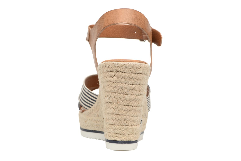 Sandales et nu-pieds Tom Tailor Glenda Bleu vue droite