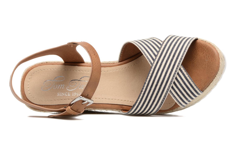 Sandales et nu-pieds Tom Tailor Glenda Bleu vue gauche