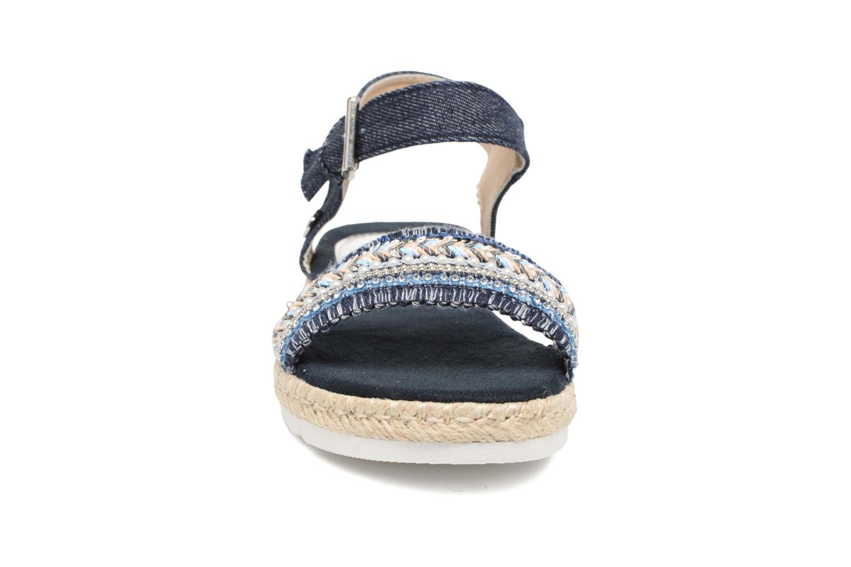 Sandales et nu-pieds Tom Tailor Leodi Bleu vue portées chaussures
