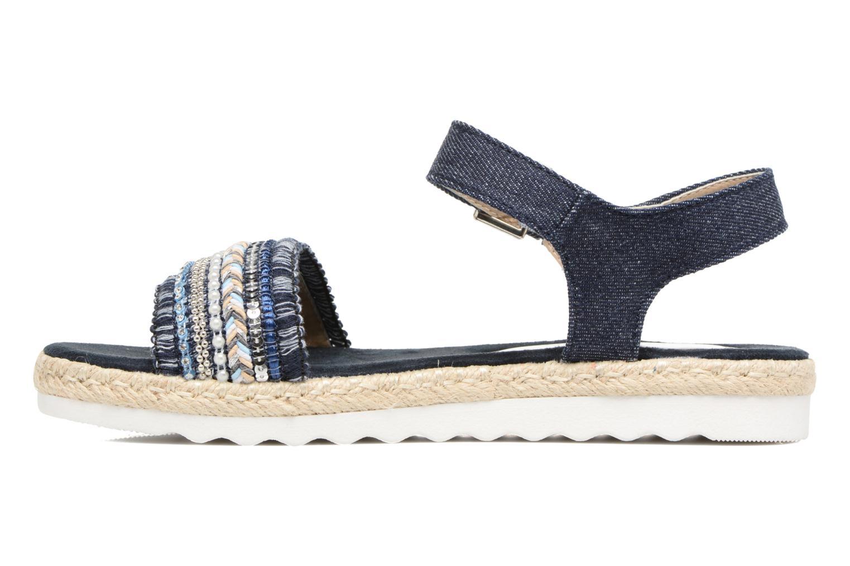 Sandales et nu-pieds Tom Tailor Leodi Bleu vue face