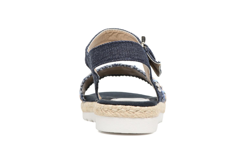 Sandales et nu-pieds Tom Tailor Leodi Bleu vue droite