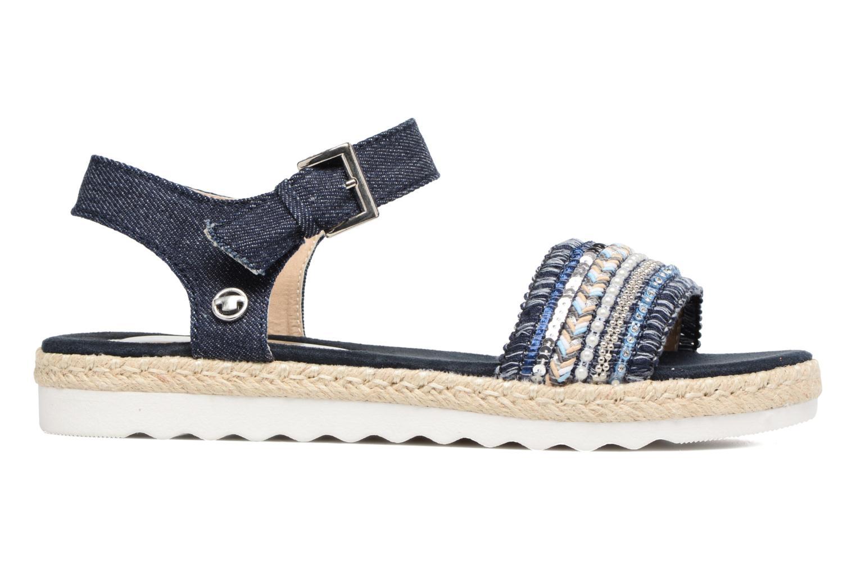 Sandales et nu-pieds Tom Tailor Leodi Bleu vue derrière