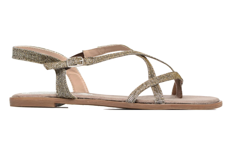 Sandales et nu-pieds Tom Tailor Guadal Or et bronze vue derrière