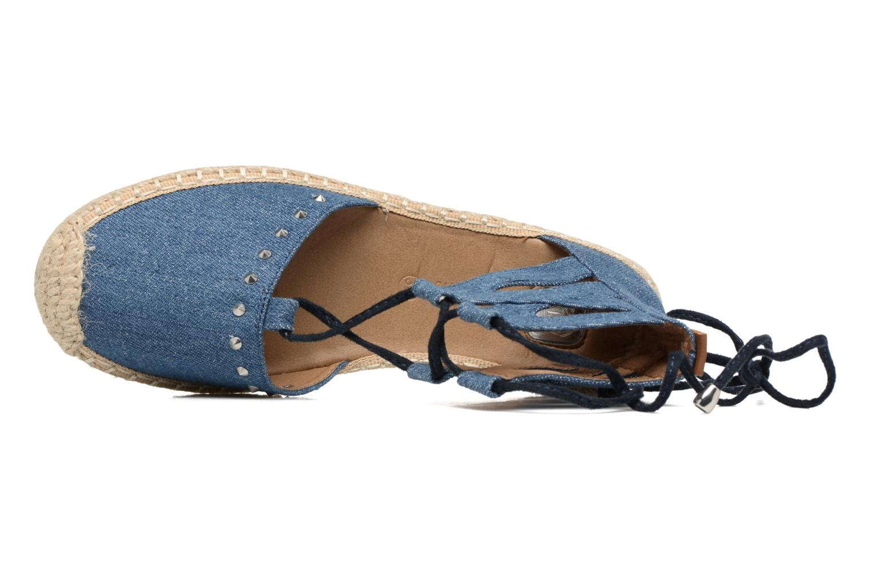 Espadrilles Tom Tailor Sonso Bleu vue gauche