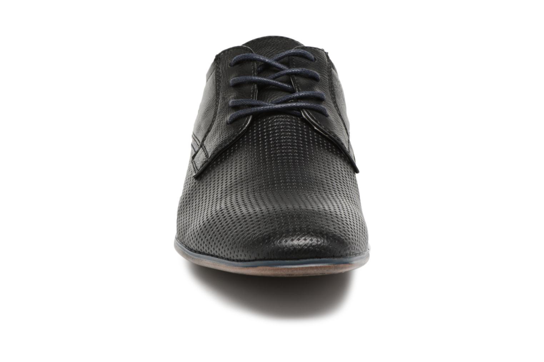 Schnürschuhe Tom Tailor Kobby schwarz schuhe getragen