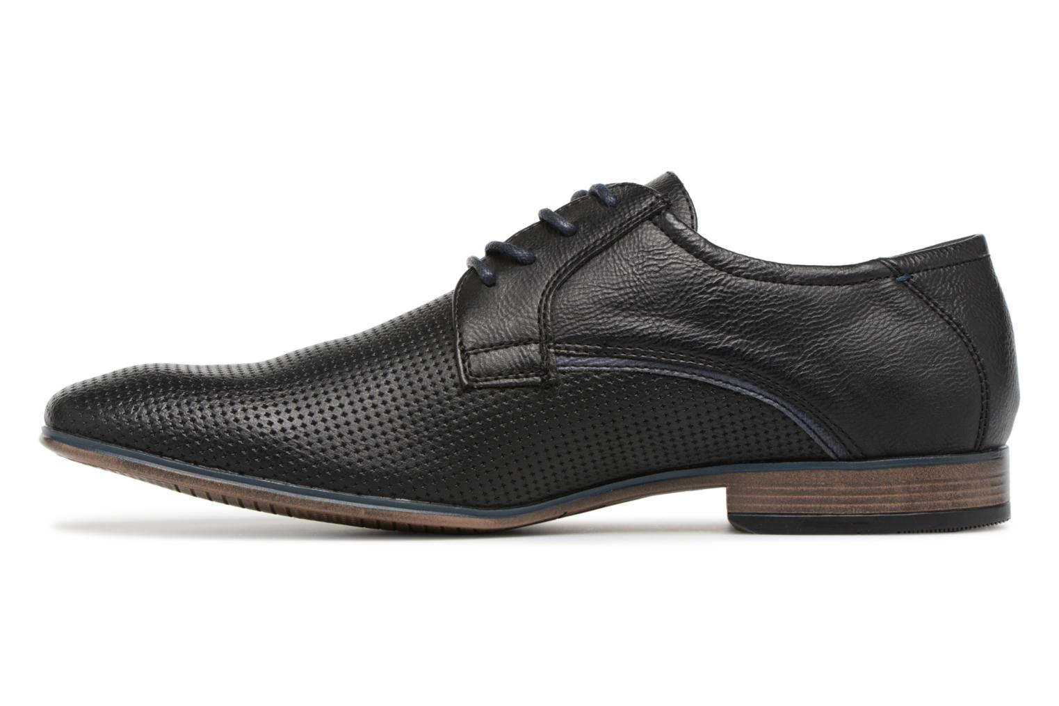 Lace-up shoes Tom Tailor Kobby Black front view