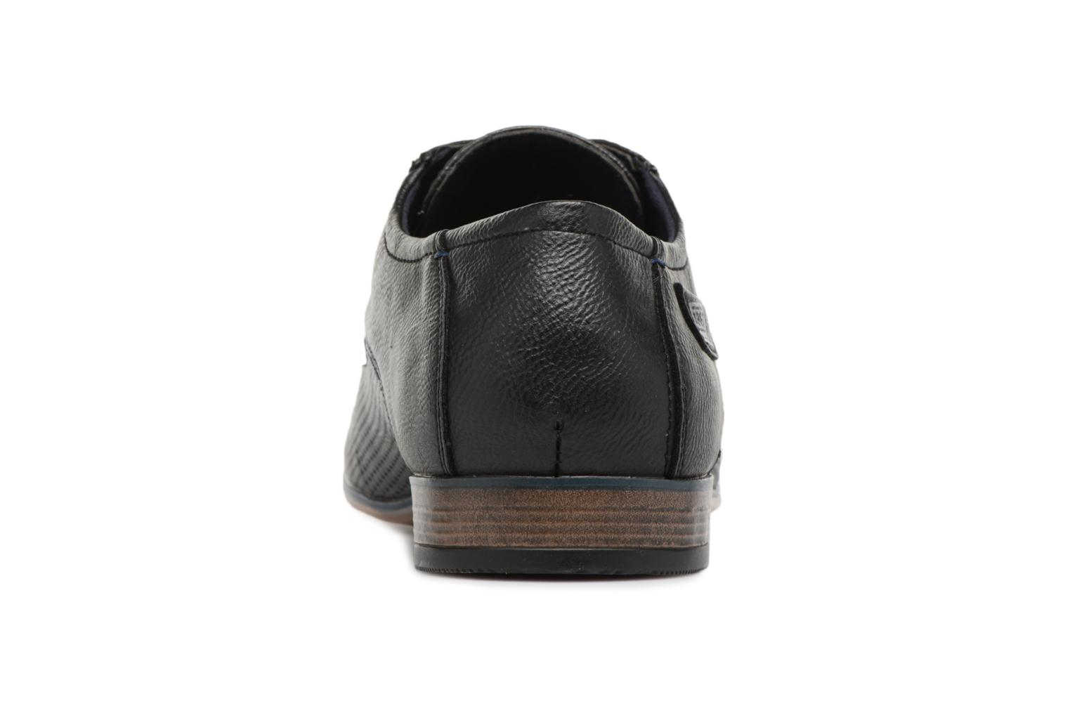 Lace-up shoes Tom Tailor Kobby Black view from the right