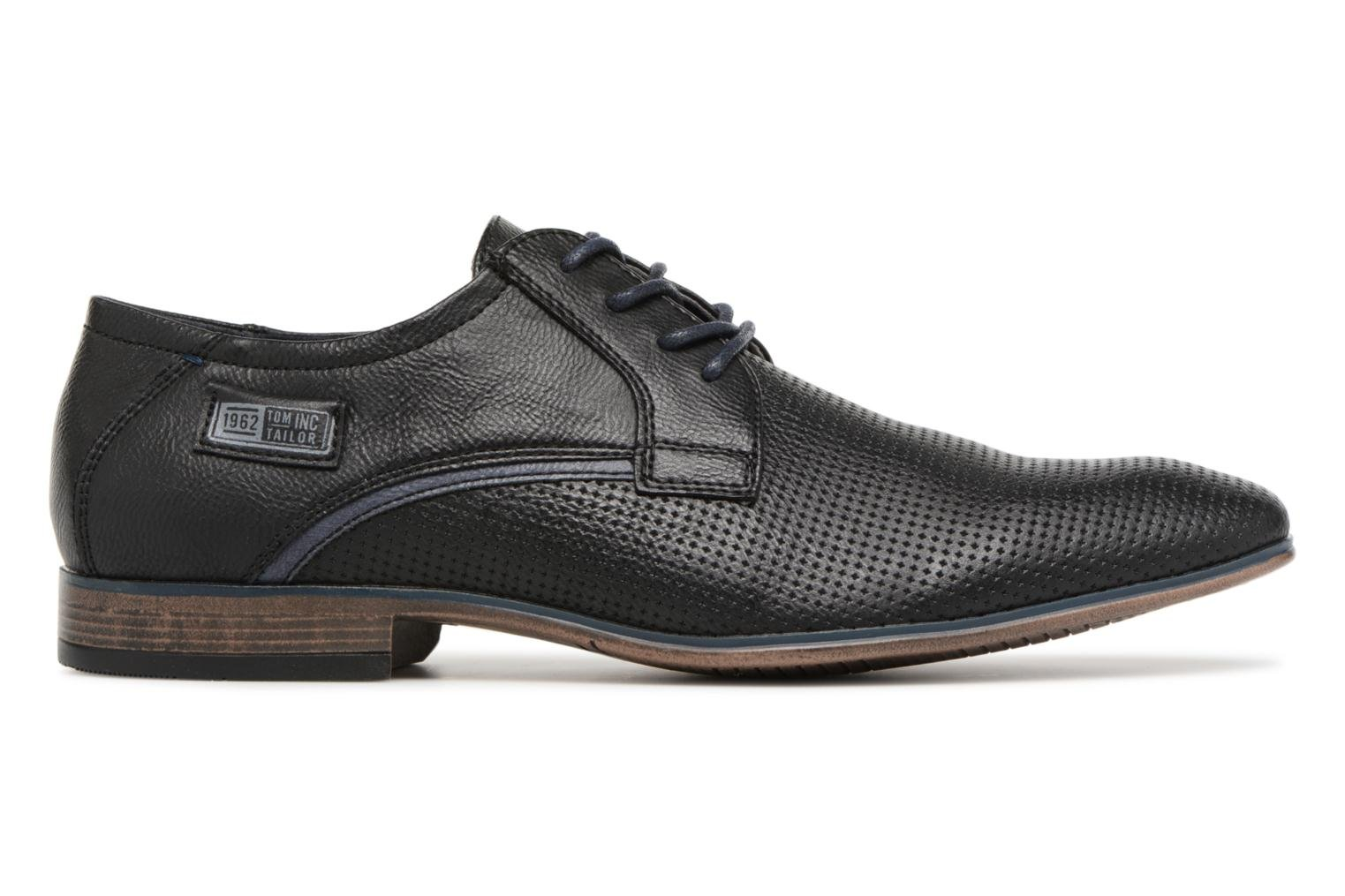 Lace-up shoes Tom Tailor Kobby Black back view