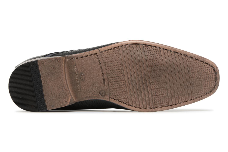Scarpe con lacci Tom Tailor Kobby Nero immagine dall'alto
