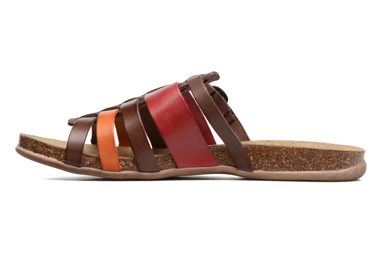 Sandales et nu-pieds Kickers Anaelle Multicolore vue face