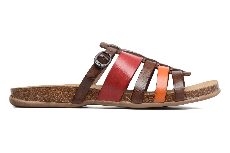 Sandales et nu-pieds Kickers Anaelle Multicolore vue derrière