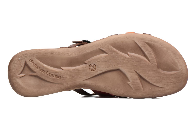 Sandales et nu-pieds Kickers Anaelle Multicolore vue haut