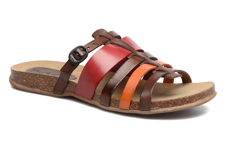 Sandales et nu-pieds Kickers Anaelle Multicolore vue détail/paire