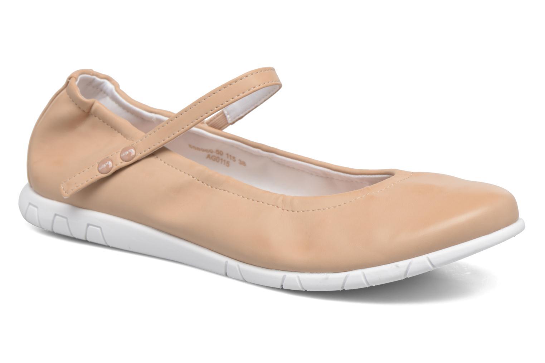 Ballerina's Kickers Belina Beige detail