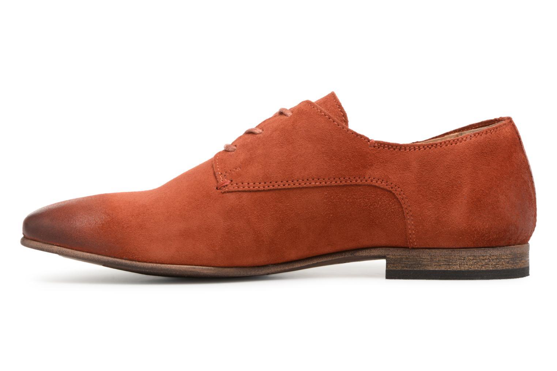 Chaussures à lacets Kickers Galla Orange vue face