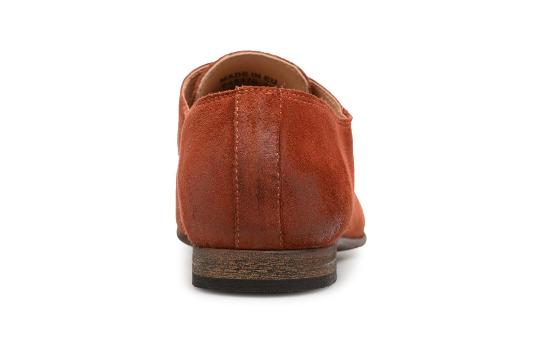 Chaussures à lacets Kickers Galla Orange vue droite