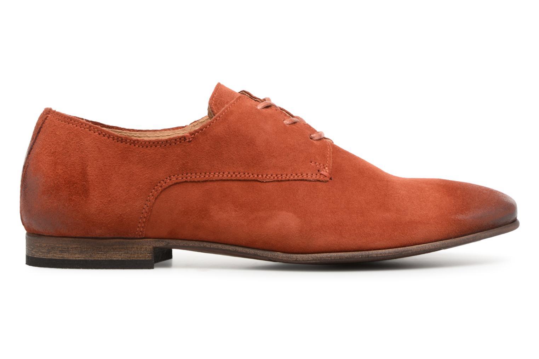 Chaussures à lacets Kickers Galla Orange vue derrière