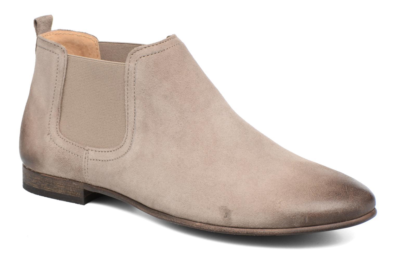 Ankelstøvler Kickers Gazette Beige detaljeret billede af skoene