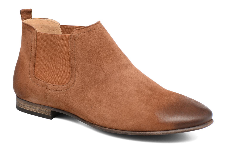 Ankelstøvler Kickers Gazette Brun detaljeret billede af skoene