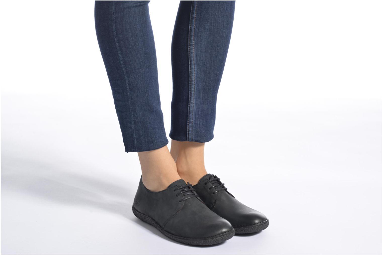Chaussures à lacets Kickers Holster Noir vue bas / vue portée sac