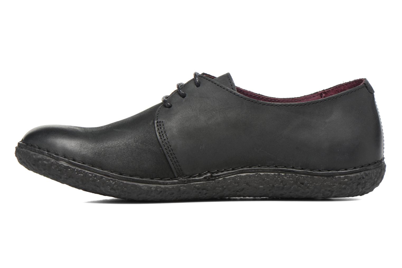 Chaussures à lacets Kickers Holster Noir vue face