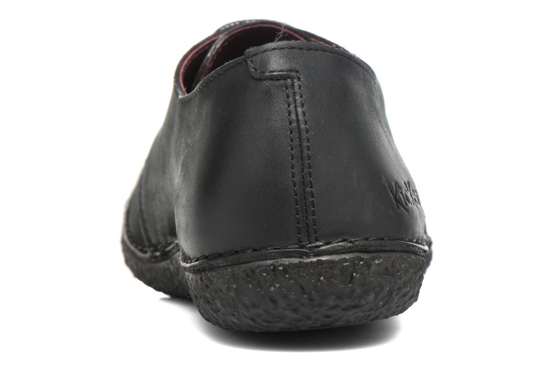 Chaussures à lacets Kickers Holster Noir vue droite