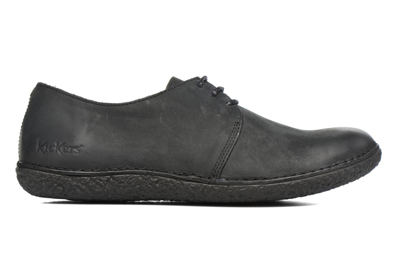 Chaussures à lacets Kickers Holster Noir vue derrière