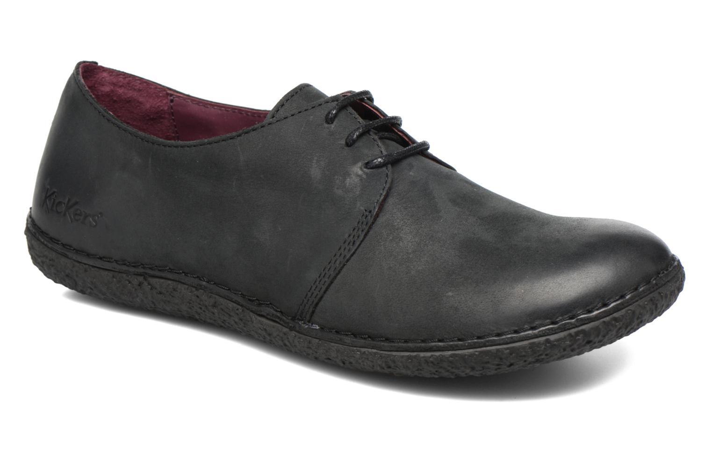 Chaussures à lacets Kickers Holster Noir vue détail/paire