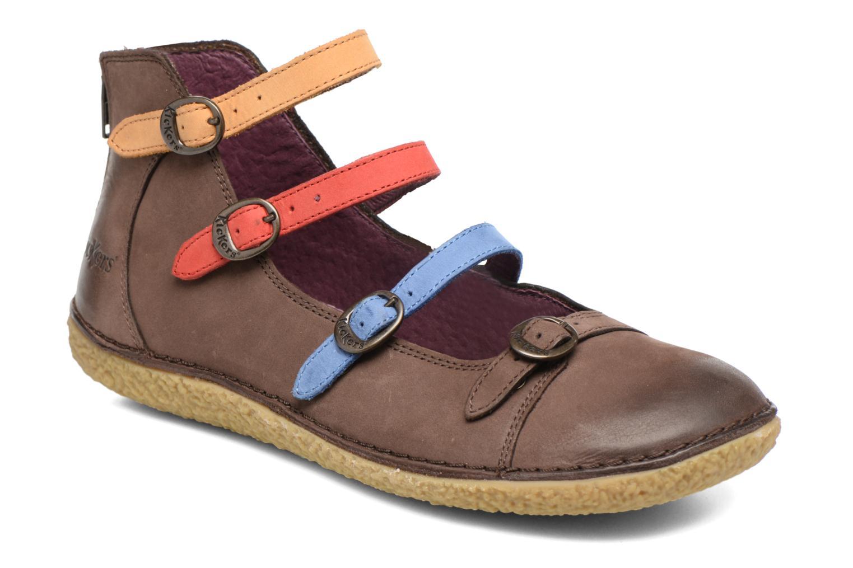 Grandes descuentos últimos zapatos Kickers Honoree (Marrón) - Bailarinas Descuento
