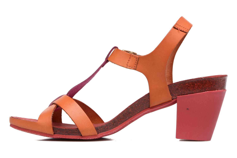 Sandales et nu-pieds Kickers Pietra Rose vue face
