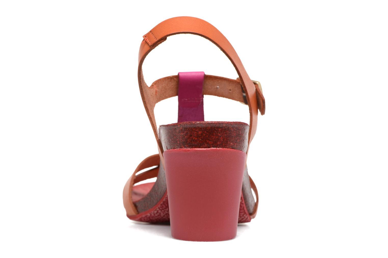 Sandales et nu-pieds Kickers Pietra Rose vue droite