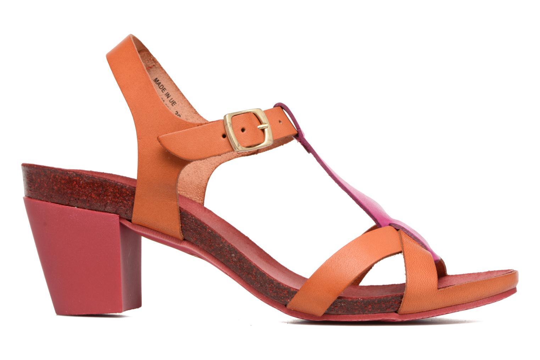Sandales et nu-pieds Kickers Pietra Rose vue derrière