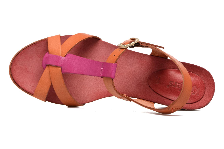 Sandales et nu-pieds Kickers Pietra Rose vue gauche