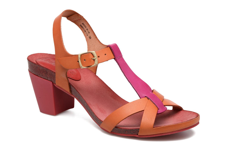 Sandales et nu-pieds Kickers Pietra Rose vue détail/paire