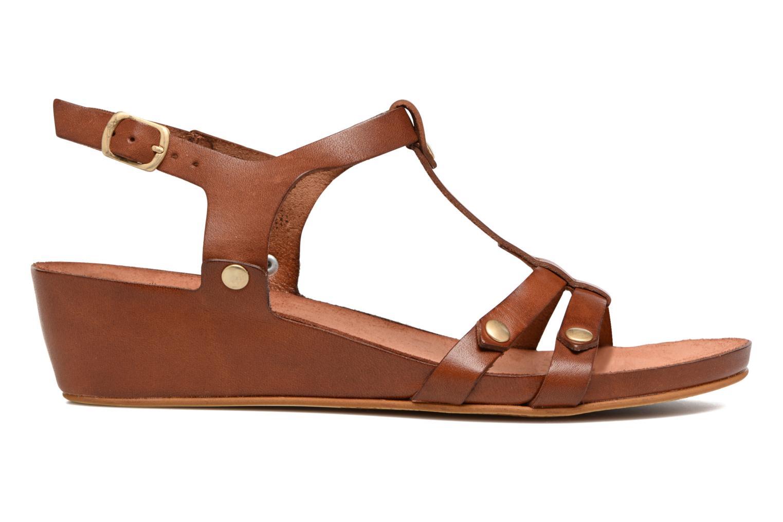 Sandales et nu-pieds Kickers Takit Marron vue derrière
