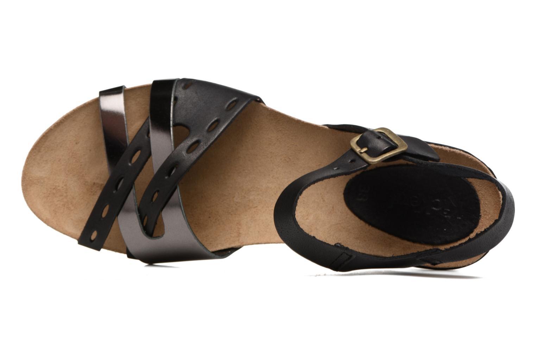 Sandales et nu-pieds Kickers Tokanne Noir vue gauche