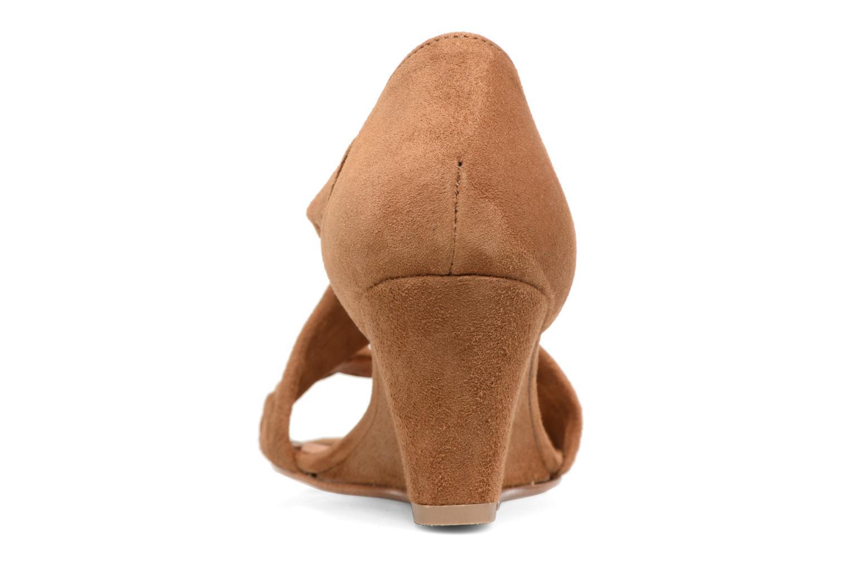 Sandales et nu-pieds COSMOPARIS Vika/Tre Marron vue droite