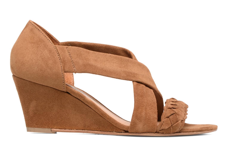 Sandals COSMOPARIS Vika/Tre Brown back view