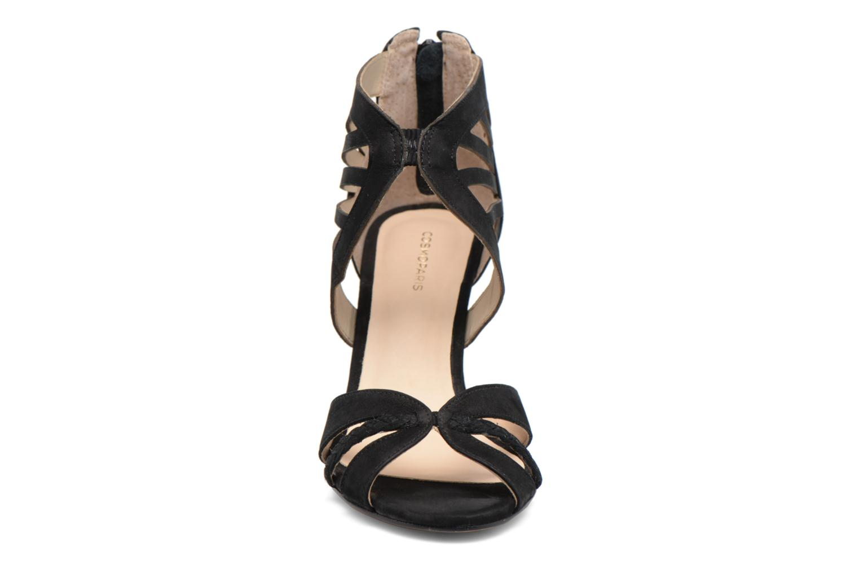 Sandals COSMOPARIS Jaza/Bi Black model view