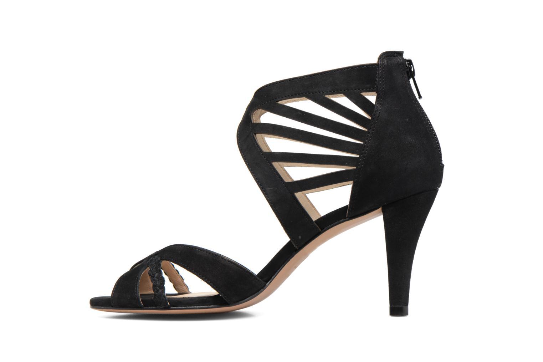 Sandals COSMOPARIS Jaza/Bi Black front view