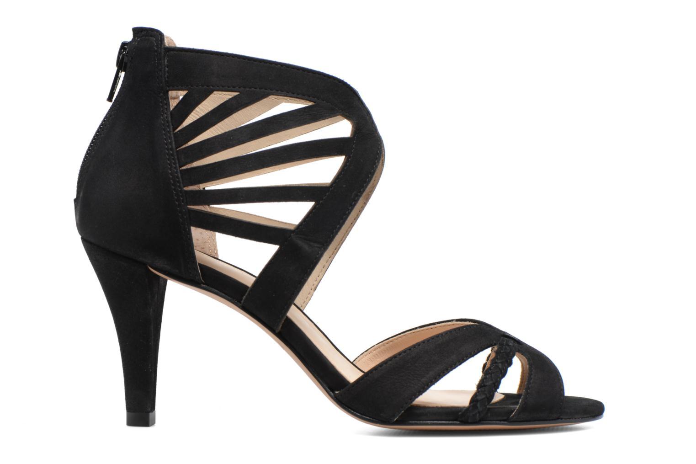Sandals COSMOPARIS Jaza/Bi Black back view