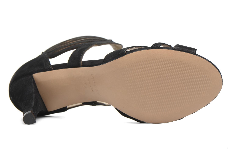 Sandali e scarpe aperte COSMOPARIS Jaza/Bi Nero immagine dall'alto