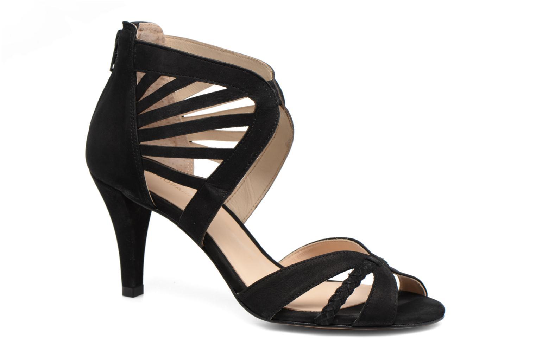 Sandals COSMOPARIS Jaza/Bi Black detailed view/ Pair view