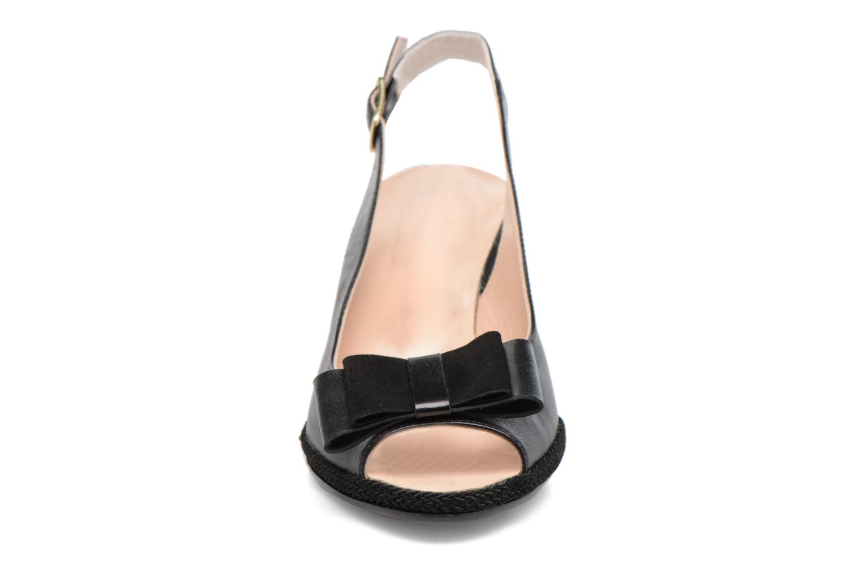 Pumps COSMOPARIS Lizia schwarz schuhe getragen