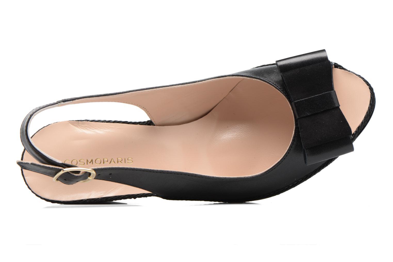 High heels COSMOPARIS Lizia Black view from the left