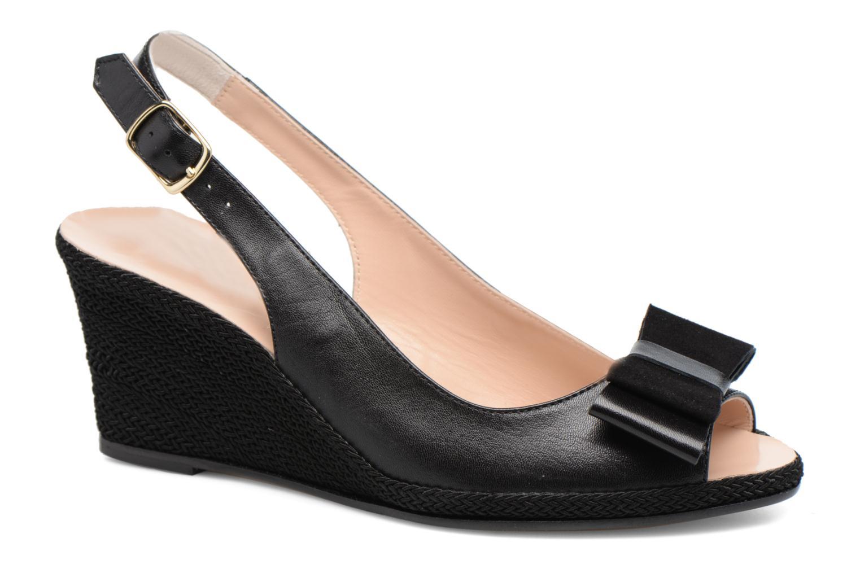 High heels COSMOPARIS Lizia Black detailed view/ Pair view